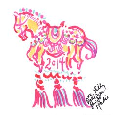 We're not horsin' around... celebrating the Chinese New Year! #lilly5x5