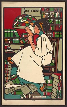 "Sadie Wendell Mitchell ""Dig"" (poster), 1909."