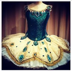 This costume is from the NYC ballet production of Sleeping Beauty- sooo pretty!!