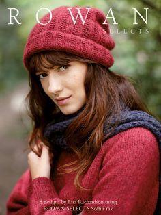 Rowan Selects Soffili Yak 2016 - hat cover pic Rowan Knitting, Rowan Yarn, Addi Knitting Needles, Knitting Books, Easy Knitting, Knitting For Beginners, Crochet Book Cover, Crochet Books, Knit Crochet