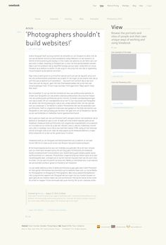 Site Wireframe