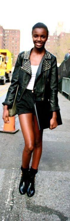 ♥  Leomie Anderson, street style