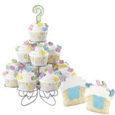 Deliciosos cupcakes para un Baby Shower...... es niño o niña????