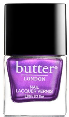 Oh butter London, why must thou tempt me so -  Loving the shade butter london Buckie Nail Lacquer -- new shimmery purple shade, new holiday release