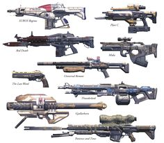 All of Destiny's Exotics (Pre-Expansion)   Destiny News.netthere are a few missing but yeah