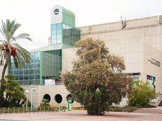Tel Aviv, Israel - Public Spaces, Beit Hatfutsot (בית התפוצות), The Museum of the Jewish People, at Tel Aviv University (אוניברסיטת תל־אביב), Klausner Street, in Ramat Aviv
