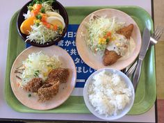 Lunch 2013.11.29 at a cafeteria