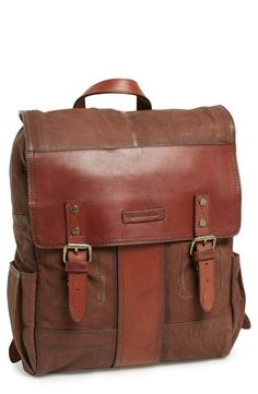 Frye Trevor Buffalo Leather Backpack | 43 Super Cool Backpacks For Grownups