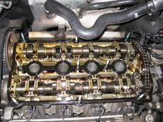 VWVortex.com - DIY How to replace valve cover gasket plus cam tensioner gasket / half moon seal