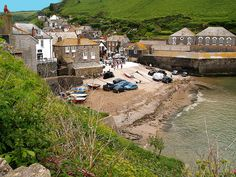 Port Isaac, Cornwall is that my car down there! Devon And Cornwall, Cornwall England, Yorkshire England, England Uk, North Cornwall, Oxford England, Yorkshire Dales, North Wales, London England