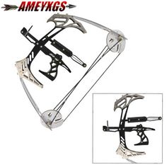 LIVABIT 8-in-1 Archery Hunting Recurve Compound Bow Accessory Upgrade Combo