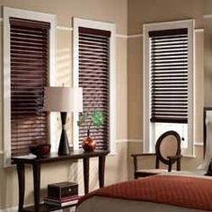 Buy Home Blinds offers custom faux wood blinds that feature the look of wood with benefits of vinyl. Faux wood window blinds are easy to clean and resistant to cracking and breaking Cheap Blinds, Diy Blinds, Cheap Curtains, Shades Blinds, Blinds Sale, Budget Blinds, House Blinds, Blinds For Windows, Diy Windows