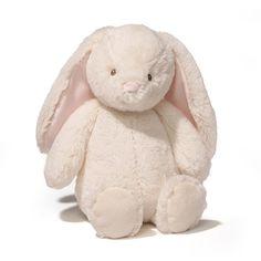 Gund Baby Thistle Bunny Plush, Cream, 13-Inch