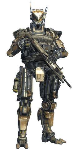 Titanfall Militia Spectre