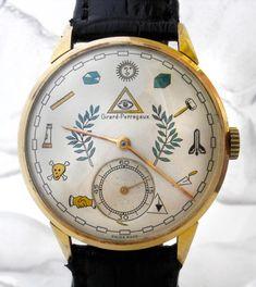 Masonic Dial Watch (1950s)
