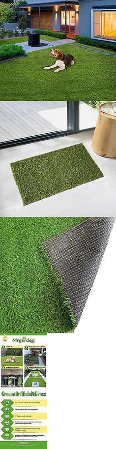 Synthetic Grass 181031: 4 X6 X3cm Premium Synthetic Turf Green Artificial Grass Lawn Fake Grass Autumn -> BUY IT NOW ONLY: $40.99 on eBay!