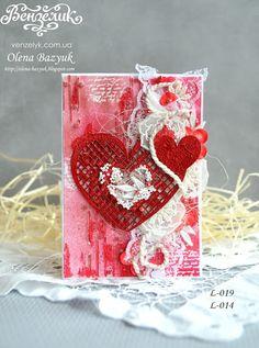 Ніжність почуттів, пристрасть, ейфорія, шалені емоції, хвилювання - все те, що заставляє наші серця битися частіше - кохання!!!! Листівка від Олени Базюк. Нежность чувств, страсть, эйфория, безумные эмоции, волнения - все то, что заставляет наши сердца биться чаще - любовь !!!! Открытка от Елены Базюк. #venzelyk #scrapbooking #chipboard #chipboardukraine #вензелик #скрапбукінг #скрапбукинг #чіпборд #чіпбордукраїна #чипборд #чипбордукраина