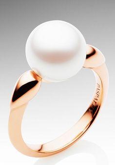 Paspaley Cherish Rose Gold and Australian South Sea Pearl Ring