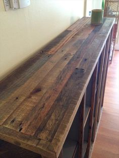 bookcase from pallets - Google Search