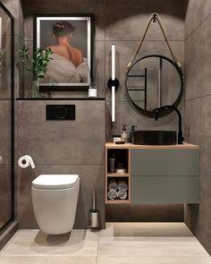 Home Interior Design Ideas Washroom Design, Toilet Design, Bathroom Design Luxury, Modern Bathroom Design, Industrial Bathroom Design, Bathroom Design Layout, Rustic Industrial, Home Room Design, Home Interior Design