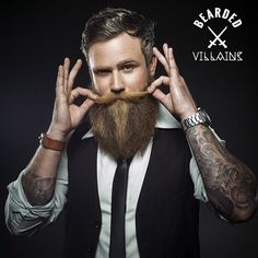 ⚔ BEARDED VILLAIN ⚔ This is @danielwth Photo by @jessiwikstrom Art @joannalandberg Make up @mariagfrorer VILLAIN STACHE. PROPER representation of Bearded Villains Sweden @beardedvillains_sweden . Our brothers from Sweden are coming in strong with some amazing work... Stay tuned for more. Let's take a moment and appreciate the epic-ness of MEMBER @danielwth exceptional Beard