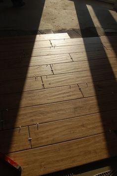Dans My Style - Maison et jardin: Le sol dans le salon - bois bois tuiles / carreaux imitant