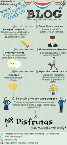 Ventajas de tener un blog Ideas Negocios Online para www.masymejor.com