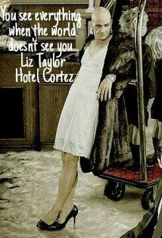American Horror Story Hotel Liz Taylor HOTEL CORTEZ