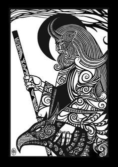 Slavic mythology on Behance