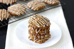 Spiced Apple Oatmeal Cookies (gluten-free)