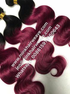 Mink Hair Ltd Human Virgin Mink Malaysian Hair Mink Brazilian Hair, Brazilian Hair Bundles, Hair Bundle Deals, Colored Wigs, Hair Shop, Malaysian Hair, Colorful Party, Ombre Color, Peruvian Hair