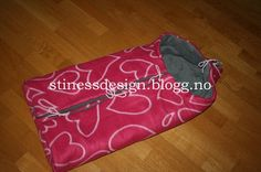 Oppskrift på bil/vognpose, vendbar (stinessdesign)