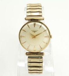Vintage-c1950s-14K-Gold-Longines-23ZS-17J-Wristwatch