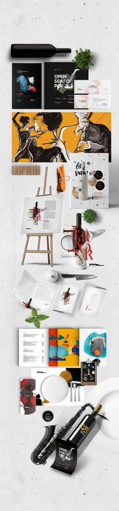 """Check out my @Behance project: """"Just.WineBar"""" https://www.behance.net/gallery/46325727/JustWineBar"""