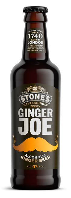 Ginger Joe Bottle, C4D, 3D, CGI