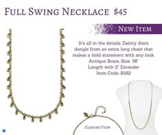 Full Swing Necklace!