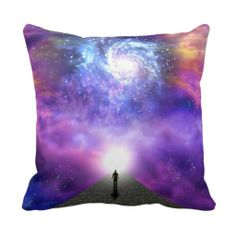 Oneness with the universe, great mystery of life pillow
