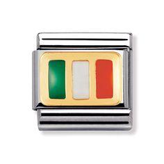 Nomination Composable Classic Ireland Flag Charm - £25.00