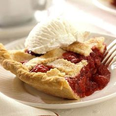 raspberry pie using frozen berries