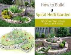 Learnhow to build a herb spiralin this article. Aspiral herb gardenis used for growing different herbs in a small space. With it, you can make a perfect use of your vertical space in an arranged manner.