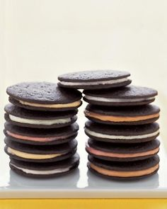 Chocolate Sandwich Cookies Recipe