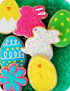 Easter cut out cooki