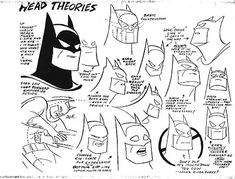 Cartoon Concept Design: Batman: the Animated Series