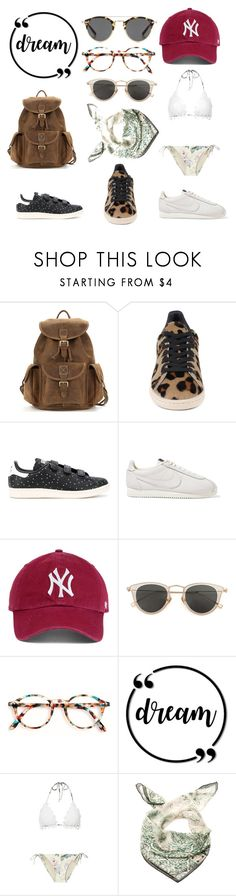 """All I want for my next traveld"" by fanny-denais ❤ liked on Polyvore featuring adidas Originals, NIKE, Issey Miyake, Zimmermann and Marina D'Este"