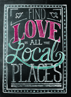 Find love in all the local places with the first of its kind mobile app for millions of independent businesses! Download the app for free & help spread the word.