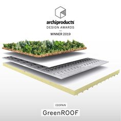 by is the green system for flat roofs winner of the Archiproducts Design Awards 2019 Developed in collaboration with Daku Italia, GreenROOF optimizes the energy performances of buildings and improves the urban ecosystem ⬇️ Rooftop Garden, Flat Roof, Design Awards, Architecture, Collaboration, Buildings, Herbs, Cabin, Green