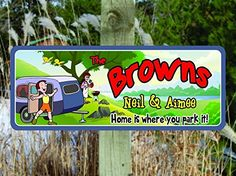 Home Is Where You Park It, It's a Great Day Personalized Sign for RVers, Camping Signs, Camping Decor, RV Signs. Camping Signs Personalized, Camping Games For Adults, Discount Handbags, Rv, Campingfood, Discount Furniture, Campsite, Crock Pot, Image Link