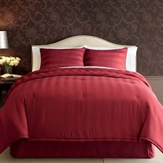 Home Expressions Damask Stripe Comforter Set & Accessories - jcpenney