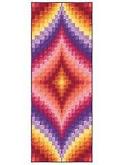 Fire Within Table Runner or Wall Hanging Pattern