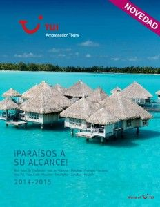 TUI Spain adelanta la edición de sus catálogos generales para el 2014 #viajes